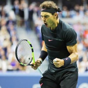 Can ruthless Nadal surpass Federer's 19 slams?