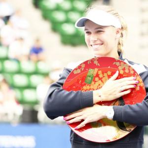 Sports Shorts: Wozniacki finally wins title after 7 attempts this year