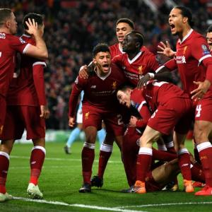 Champions League: Liverpool rout Man City at Anfield