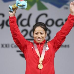 Sanjita Chanu gives India second weightlifting gold