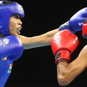 CWG Boxing: Mary Kom in final; heartbreak for Sarita