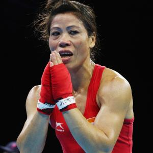 Mary Kom to be India's flagbearer at CWG closing ceremony