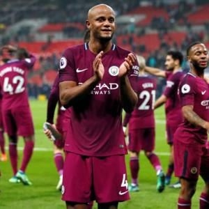 Manchester City confirmed as champions as rivals United lose