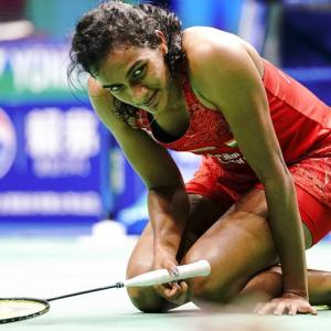 Sindhu chokes yet again; loses to Marin in World Championships final