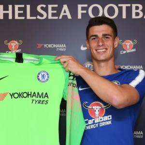 Kepa and Courtois: A tale of two goalkeepers