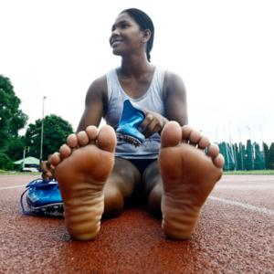 India's Asiad champ with 12 toes gets customised shoes