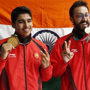 Asian Games: Teen sensation Saurabh claims gold; Rajput wins silver