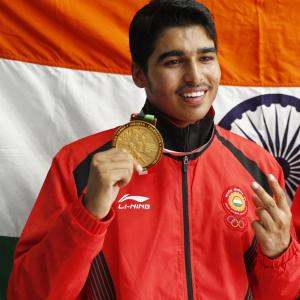 Chaudhary bosses his way to shooting gold at Youth Olympics