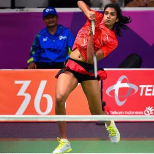 Asiad Games: Sindhu survives scare, Saina cruises