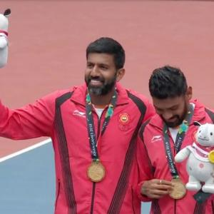 Asian Games: Bopanna-Sharan crush Kazakhs to win men's doubles gold