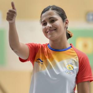 Asian Games: Sidhu bags bronze, heartbreak for Manu