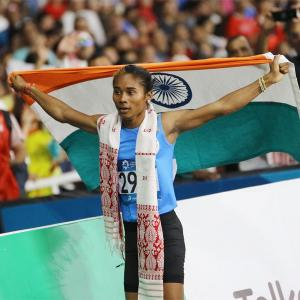 Hima Das thanks fans for support, says focus on Olympics now