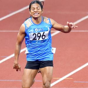 Asiad athletics: Dutee bags second medal, wins 200m silver