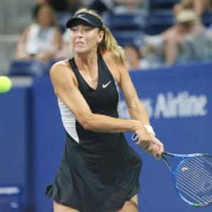 US Open: Sharapova edges past spirited Schnyder at Flushing Meadows