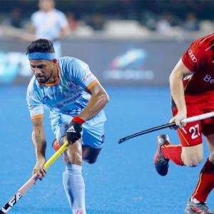 Hockey World Cup: Spirited India play out draw against Belgium