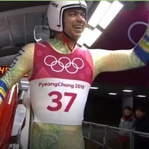 Indians at Winter Olympics: Keshavan 34th after two rounds