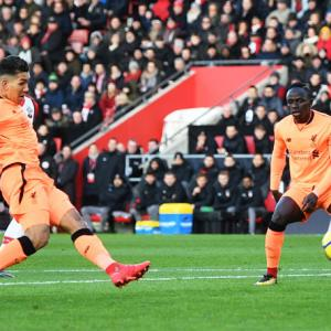 EPL PHOTOS: Liverpool down Saints; Newcastle shock Manchester United