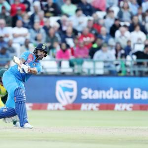 Big jump for Dhawan, Bhuvi in ICC T20I rankings