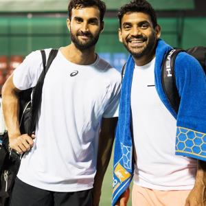 Tata Open: Defending champs Bopanna, Jeevan ousted