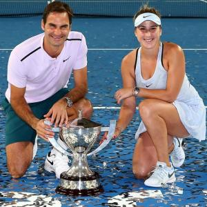 Federer leads Switzerland to third Hopman Cup title