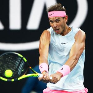 Fans swoon as sleeveless Nadal turns up the heat in Melbourne!