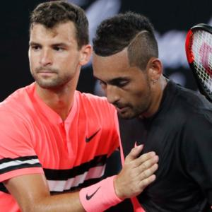 Here's what Kyrgios told Dimitrov after epic Australian Open match