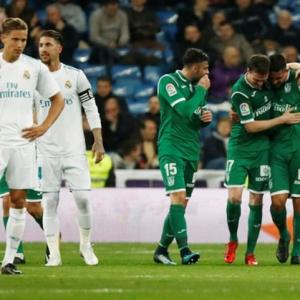 Real Madrid humbled by Leganes in King's Cup