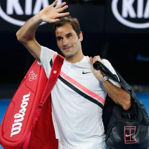 PHOTOS: Dominant Federer into Australian Open final after Chung retires