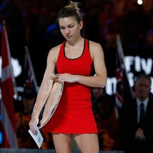 No escapes for brave Halep in third Grand Slam final