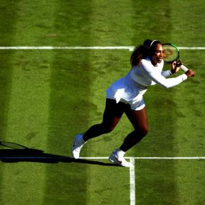 PHOTOS: Serena back doing what she does best at Wimbledon