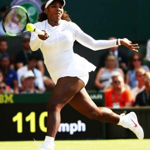 Serena on a roll as she roars into Wimbledon last 16
