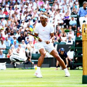 Wimbledon: Irrepressible Nadal marches past Vesely into last eight