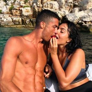 PIX: Ronaldo and his pretty WAG flaunt hot-bodies