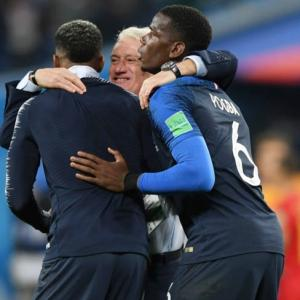 Deschamps hails French character after World Cup semis win