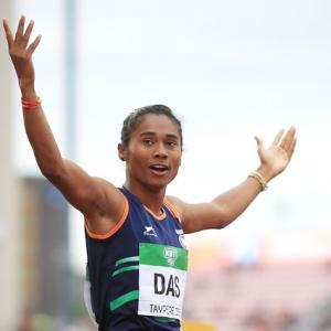 Sprinter Hima requests permission to train outdoors
