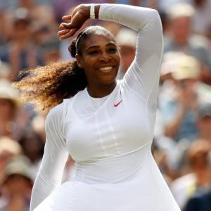 No stopping Super-Mom Serena