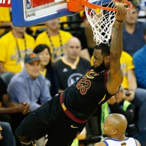 NBA Finals: King James rules the court in heroic Game One defeat