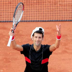 French Open PIX: Djokovic eases into quarters, Zverev to face Thiem