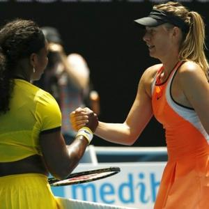 Beware of flying barbs as Serena faces off with Sharapova