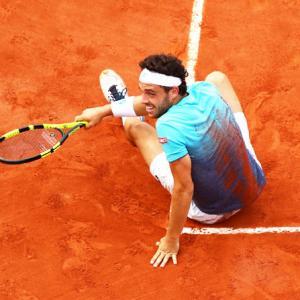 Cecchinato: From match-fixing ban to French Open quarters