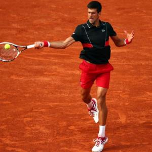 Djokovic unhappy with courts at French Open
