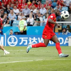 PHOTOS: Lukaku scores twice as Belgium outclass Panama