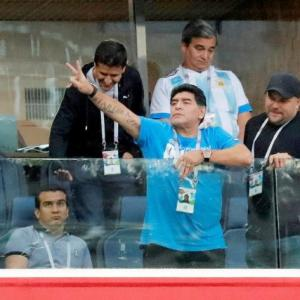 I'm fine, wasn't hospitalised, says Maradona after health scare