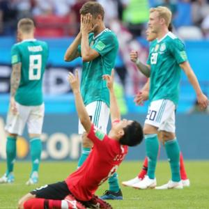 SHOCKING! Defending champs Germany crash out of World Cup