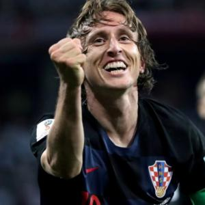 Magic Modric living the dream for Croatia