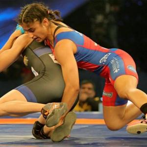Navjot first woman wrestler to win gold at Asian Championships