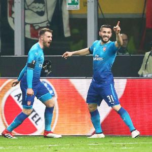 Europa League: Arsenal stun Milan 2-0, Atletico cruise to victory