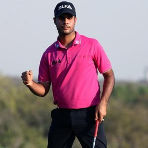 Super Shubhankar sets course record at Indian Open