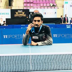 Hungrier, stronger, paddler Sathiyan confident of gold at CWG