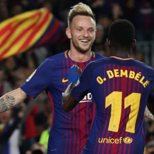 La Liga: Dembele delights Nou Camp; Ramos has night to forget